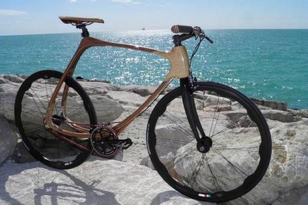 carbon wood bike un v lo en bois et fibre de carbone. Black Bedroom Furniture Sets. Home Design Ideas