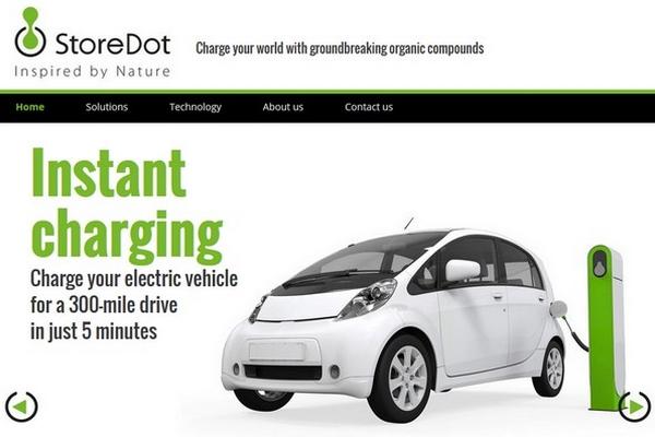 storedot recharger sa voiture lectrique en 5 minutes. Black Bedroom Furniture Sets. Home Design Ideas