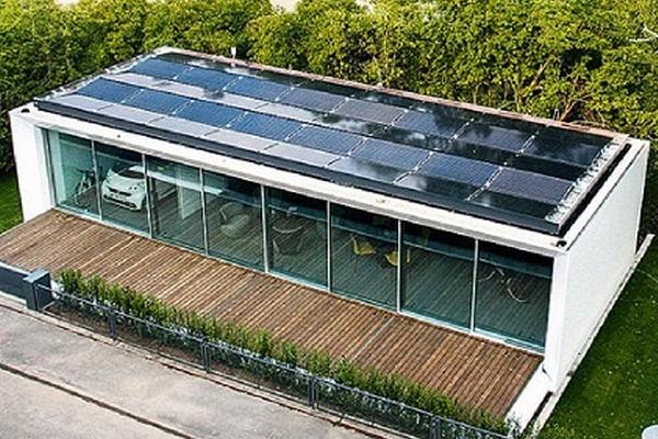 B10 une maison qui produit deux fois plus d nergie qu elle n en consomme - Constructeur maison autonome en energie ...