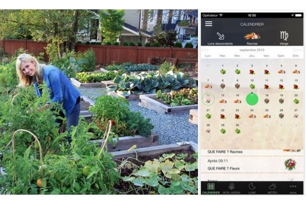 Lune et jardin une application pour cultiver en biodynamie for Jardin lune octobre 2015