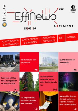 Screenshot EffiNews Bâtiment