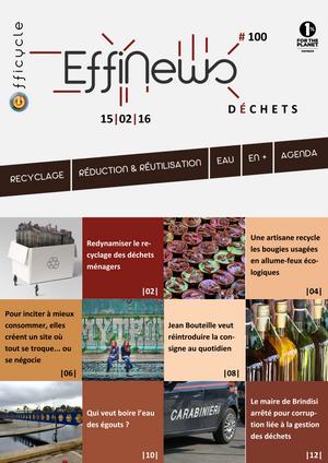 Screenshot EffiNews Déchets