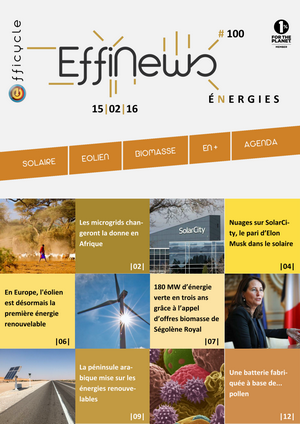 Screenshot EffiNews Energies