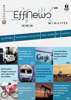 Screenshot EffiNews Mobilités