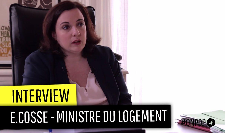 Interview d'Emmanuelle Cosse sur l'encadrement des loyers