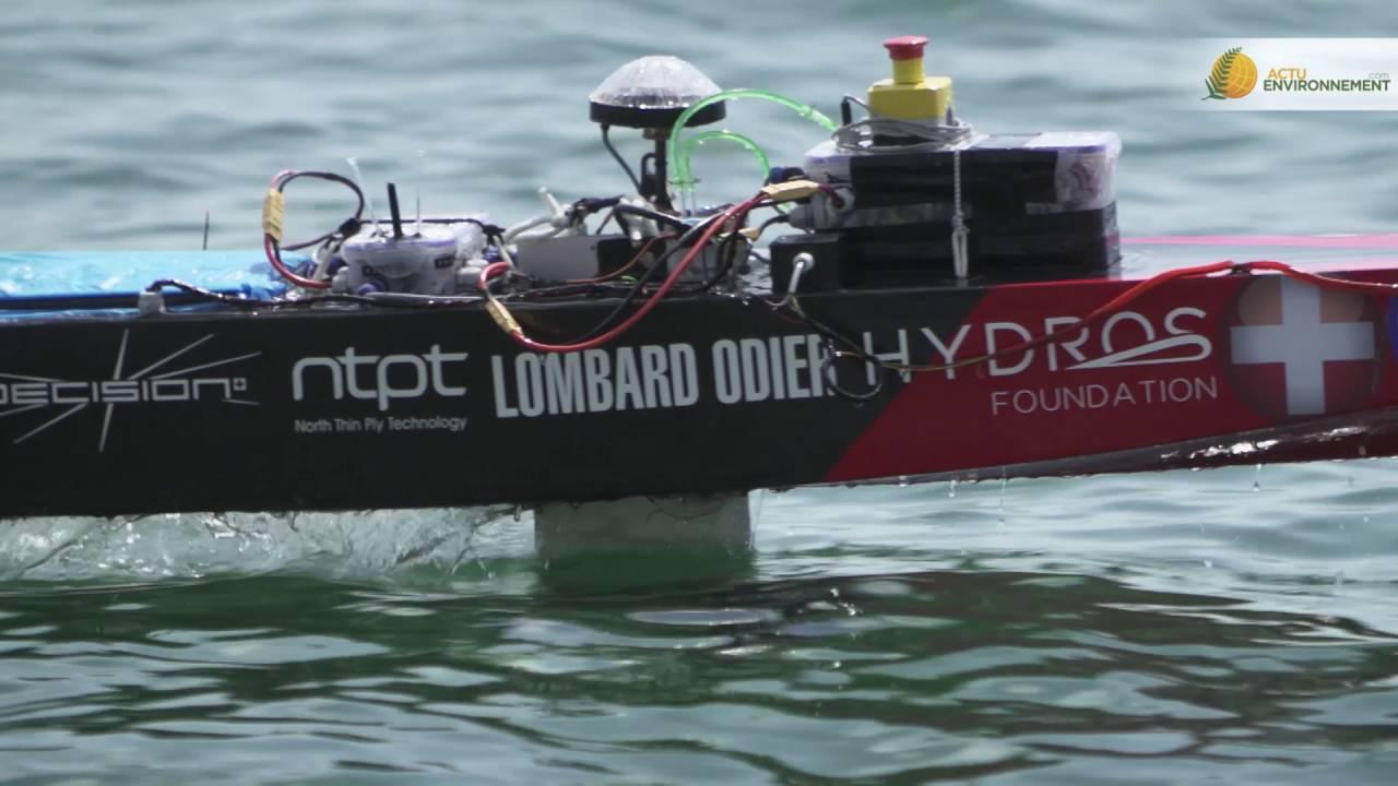 HydroContest 2016 : les étudiants inventent le bateau du futur