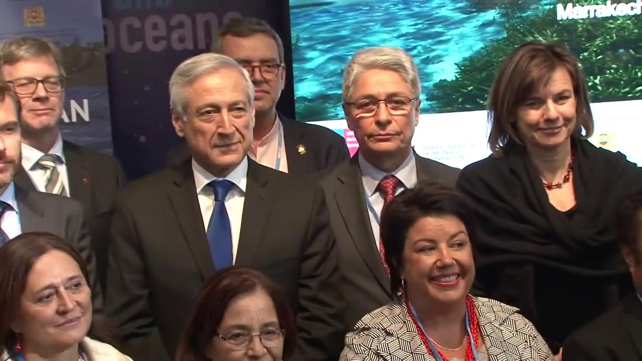 Because the Ocean : protéger l'océan c'est lutter contre le dérèglement climatique
