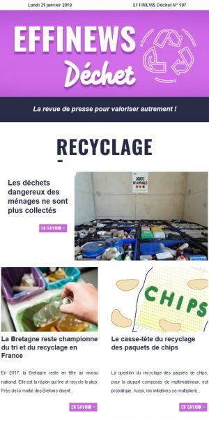 Page EFFINEWS - Image EFFINEWS Déchet